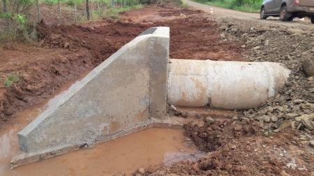 PREFEITURA INICIARÁ CONSTRUÇÃO DE BUEIROS NAS ESTRADAS DA SERRA DO IGUARIAÇA.
