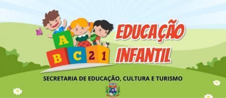 INSCRIÇÕES ABERTAS PARA INGRESSO DE CRIANÇAS NA EDUCAÇÃO INFANTIL, DE 03 ANOS À 03 ANOS E 11 MESES.