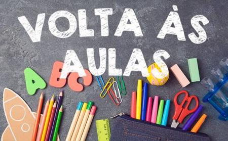 SECRETARIA DE EDUCAÇÃO INFORMA A DATA DE RETORNO ÀS AULAS